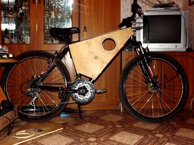 Тюнинг колонки для велосипеда